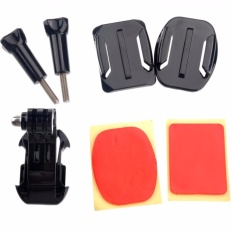 Helmet Front Mount for Xiaomi Yi / Xiaomi Yi 2 4K / GoPro Hero GP19 s3278 - Black
