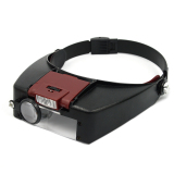 Beli Helm Gaya Kaca Pembesar Kacamata Pembesar Dgn Lampu Led Hitam Vococal Dengan Harga Terjangkau