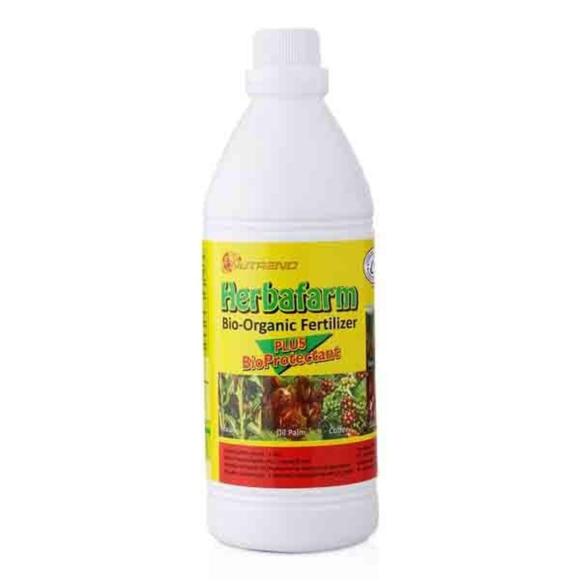 Herbafarm Pupuk Cair Bio Organik 1 Lt Nutrend Diskon 50