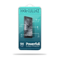 HERCULLEZ Glass Tempered Glass for Lenovo A6000 / A6000 Plus - Premium Tempered Glass - Anti Gores - Screen Protector