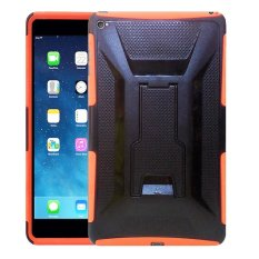 Hermantech case for Ipad Mini 4 Rugged Armor With Kickstand - Orange
