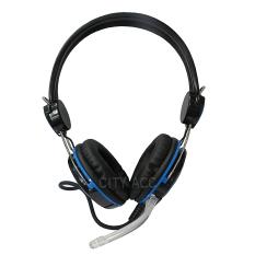 Review Hermantech Gaming Headset Pro Biru Di Dki Jakarta