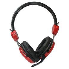 Jual Hermantech Gaming Headset Pro Merah Hermantech Grosir