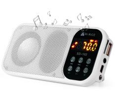 Spesifikasi Hi Beras Sd 102 Portabel Radio Fm Usb Tf Pembaca Kartu Mp3 Player Media Digital Lcd Tampilan Senter Led Speaker International Lengkap