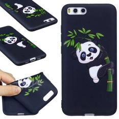 Hicase 3D Embossed Pola TPU Silicone Gel Soft Case Cover untuk Xiaomi Mi 6 [Panda Bambu]-Intl