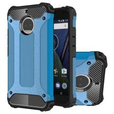 Jual Beli Hicase Dual Layer Armor Shell Hard Back Cover For Motorola Moto G5S Plus 5 5 Intl Baru Tiongkok