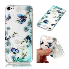 Hicase Slim-Fit Anti-Scratch Soft TPU Case Cover untuk IPod Touch 5/6-Intl