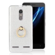 Hicase Lembut TPU Pelindung Case Ring Holder Kickstand Cover untuk LENOVO K6 Power White-Intl