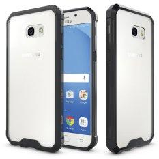 Hi Case Transparan Keras Penutup Belakang + Rangka TPU Slim Gores Pelindung Case Cocok untuk Samsung Galaxy A5 2017 Hitam-Internasional