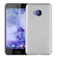 Hicase Ultra Light Slim Shockproof Silicone TPU Protective Case Cover for HTC U Play Silver - intl