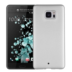 Hicase Ultra Light Slim Shockproof Silicone TPU Protective Case Cover untuk HTC U Ultra Silver-Intl