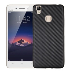 Penawaran Istimewa Hicase Ultra Light Slim Shockproof Silicone Tpu Protective Case Cover Untuk Vivo V3 Hitam Intl Terbaru