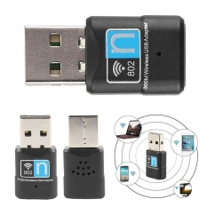 Tinggi mendapatkan 300 Mbps wireless antena USB Wi Fi Adapter N 802.11 b/g/n Wi - Fi Dongle