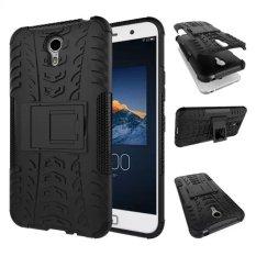 High Impact Rugged Shockproof Case Cover dengan Kickstand untuk Lenovo ZUK Z1 (Hitam)-Intl