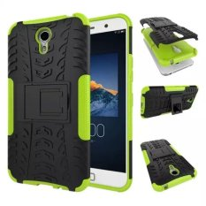High Impact Rugged Shockproof Case Cover with Kickstand for Lenovo ZUK Z1 (Green) - intl