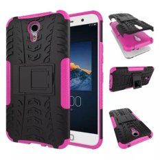 High Impact Rugged Shockproof Case Cover dengan Kickstand untuk Lenovo ZUK Z1 (Pink)-Intl
