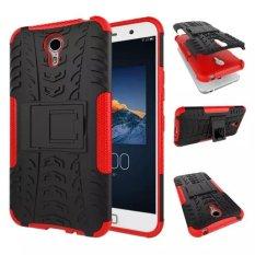 High Impact Rugged Shockproof Case Cover dengan Kickstand untuk Lenovo ZUK Z1 (Merah)-Intl