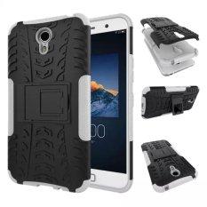 High Impact Rugged Shockproof Case Cover dengan Kickstand untuk Lenovo ZUK Z1 (Putih)-Intl
