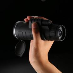 Beli High Powered Hd 35X50 Wide Angle Monoculars Konser Camping Hiking Telescope Binoculars Dengan Strap Tangan Hitam 16X6 5X6 5 Cm Intl Baru