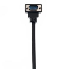 Berkualitas Tinggi 1.5 M 15-pin VGA Male To Male Kabel Sambungan untuk TV Komputer (Hitam)