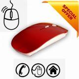 Model Mouse Optik Nirkabel 2 4G Kualitas Tinggi Penerima Usb Dapat Diisi Ulang For Laptop Terbaru