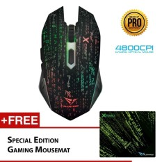 High quality/ Alcatroz X-Craft Pro Z8000 Noiz (4800 CPI) Gaming Mouse FreeMousemat   - intl