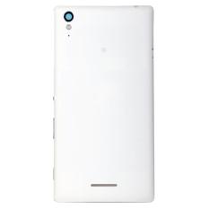 Harga Kualitas Tinggi Penutup Belakang Pengganti Untuk Sony Xperia T3 Putih Seken