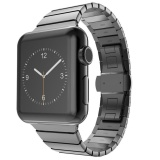 Jual Tinggi Quality Black Gold Silver Warna Link Gelang Band Apple Watch 38Mm Stainless Steel Strap Dengan Fungsi Pelepasan Cepat Intl Online