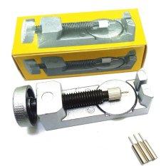 Ulasan Mengenai Kualitas Tinggi Merek Baru Profesional Tali Logam Alat Kit Set Adjustable Gelang Rantai Tali Jam Pin Remover Repair Intl