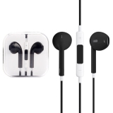 Spesifikasi Tinggi Kualitas Earpods Dengan Remote Dan Mic Untuk Iphone 6 6 Plus Iphone 5 5 S 5C Iphone 4 4 S Ipad Ipod Touch Ipod Nano Classic Hitam