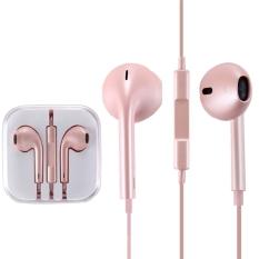 Promo Toko Tinggi Kualitas Earpods Dengan Remote Dan Mic Untuk Iphone 6 6 Plus Iphone 5 5 S 5C Iphone 4 4 S Ipad Ipod Touch Ipod Nano Classic Rose Gold
