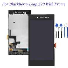 Kualitas Tinggi Layar LCD Touch Screen Digitizer Assembly dengan untuk BlackBerry Leap Z20 + 3 M Tape + Pembukaan Repair ALAT + Lem-Intl