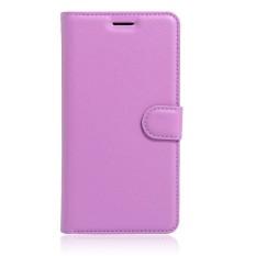 Kulit Berkualitas Tinggi Kasus Telepon [Untuk Alcatel One Touch Pixi 4 (5.0 Inch) OT5010D] Original Cell Phone Case Flip Wallet Book Style Cover YJLX (Hitam)-Intl