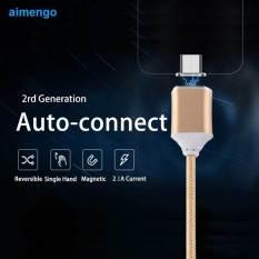 Toko Kabel Usb Mikro Magnetik Berkualitas Tinggi For Smartphone Samsung Sony Charger Kabel Data For Htc Xiaomi Huawei Emas Internasional Online