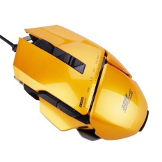 High quality/ ( MALAYSIA ) JamesDonkey 325 USB Wired Laser Programmable LEDGaming Mouse Orange   - intl
