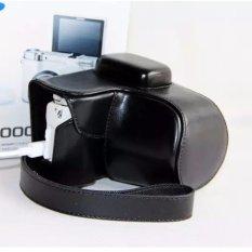 Harga Tinggi Kualitas Profesional Pu Tas Kamera Kulit Kasus Untuk Nx3000 20 50Mm Dengan Leather Shoulder Strap Camera Cover Intl Baru Murah