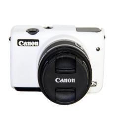 Silikon Berkualitas Tinggi Camera Case Bag Cover untuk Canon EOS M10 Eosm10 Kamera (Putih)-Intl