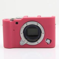 Toko Kualitas Tinggi Silikon Penutup Tas Kamera Untuk Fujifilm X Laporan A3 Xa3 Merah International Murah Di Tiongkok