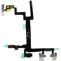 Kualitas Tinggi Ganti Kabel Fleksibel (tombol Daya Volume And Diam Beralih Tombol) untuk IPhone 5