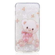 Mainan Berkualitas Tinggi Bear TPU Lembut Kantong Gas Belakang Case Cover untuk Samsung GALAXY J7 Prime Case-Intl