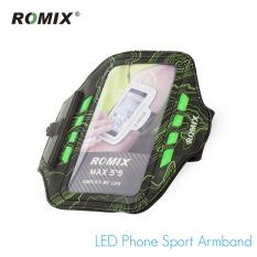 High Quality Water Resistant Cell Phone Armband Under 5.5 Inches-Adjustable Reflective Velcro Workout Band, Key Holder & Screen Protector