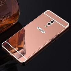 High Quanlity Mirror Metal Aluminum Case + Ultra Slim Acrylic Back Cover For Samsung Galaxy C8 / J7Plus + / J7310 5.5