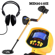 Review Toko Sensitivitas Tinggi High Performance Metal Detector Md3010Ii Underground Metal Detector Gold Digger Treasure Hunter Metal Finder Treasures Mencari Tool Earphone Intl