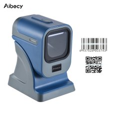 Kecepatan Tinggi Omnidirectional 1D/2D Presentasi Barcode Scanner Reader Platform With Kabel USB To Toko Supermarket Express