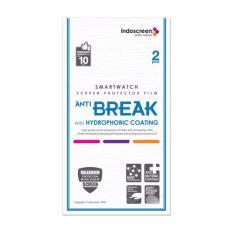 Hikaru Screen Protector Anti Break Samsung Gear S3 - Clear