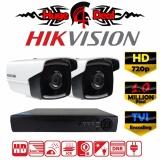 Harga Hikvision Ds 2Ce16C0T It3 4Ch Hd Cctv Kamera Peluru Kit Set Dvr 1 Mp Decoding Tvi Jarak Inframerah 40 Meter Model Exir 2017 Yang Baru 720P 3 6Mm Lens 1Mp Perekam Video Digital Adaptor Dan Bracket Gratis Ds 2Ce16C7T Ds 2Ce16C0T Ds 2Ce16C1T Hikvision Online