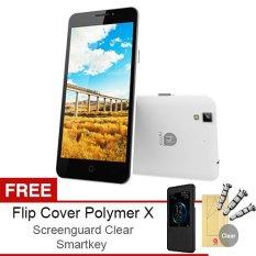 Cuci Gudang Himax Polymer X 16Gb Putih Gratis Flipcover Screenguard Smartkey
