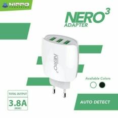 Berapa Harga Hippo Adaptor Charger Nero 3 3 8A Simple Pack Auto Detect Di Indonesia