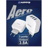 Diskon Hippo Aero Charger Adapter 3 Port Hippo