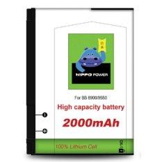 Hippo Baterai Double Power DX-1 Blackberry Javelin/Storm/Tour 8900/9550 - 2000mAh Batre BB